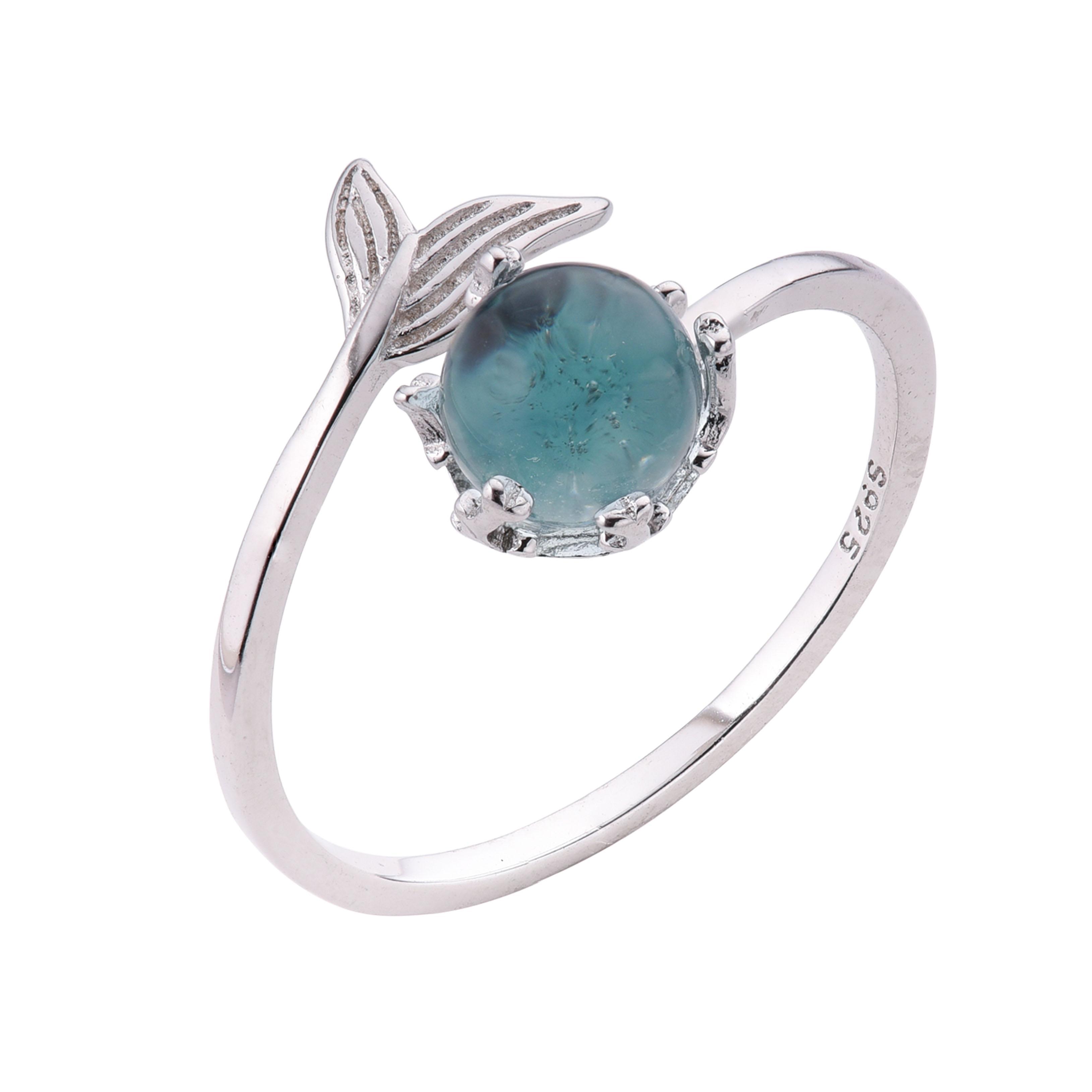 Nhẫn bạc 925 BTS Blue Sea